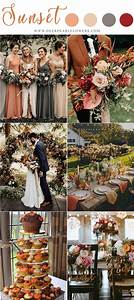 20 Vintage Sunset Orange Wedding Color Ideas For 2020