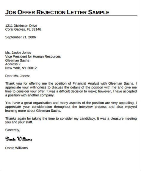 sle job offer acceptance letter pdf docoments ojazlink reject offer letter sle email docoments ojazlink