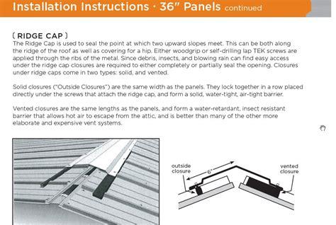 metal roof ridge vent hole membrane roofingsiding