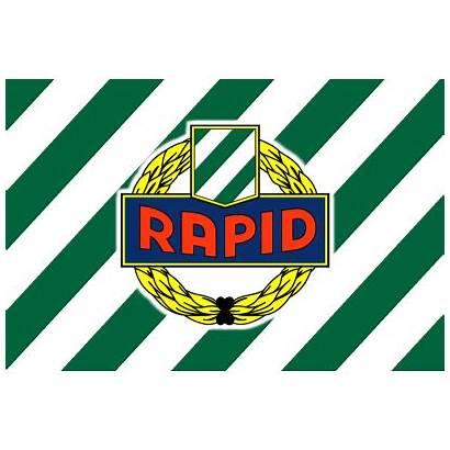 Rapid Wien Sk Flag Cecko Logos Soccer