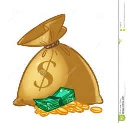 Animated Cartoon Money Bags