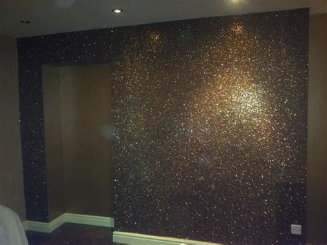 Wandfarbe Schwarz Glitzer by Step By Step To Adding Glitter Wall Paint Make Purchase