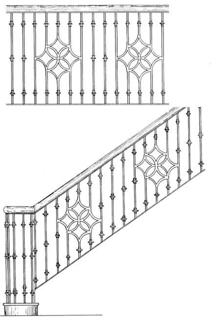 58 best iron rails images on Pinterest   Banisters, Stairs