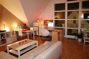 Wohn Schlafzimmer Kombinieren : wohnzimmer 39 wohn schlaf und arbeitszimmer 39 mein kleines reich zimmerschau ~ Orissabook.com Haus und Dekorationen