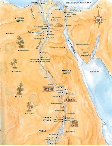 ancient egypt pyramids map