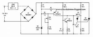 Build A Simple 90vrms Voltage Regulator Circuits Diagram