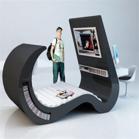 computer storage furniture spaces modern furniture design