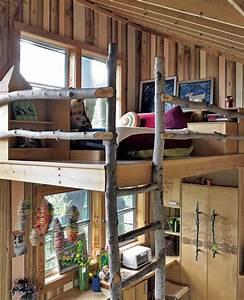 Coole Kinderzimmergestaltung Und Einrichtung In Holz Mit