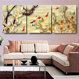 Canvas Pictures White Magnolia Wall Art Canvas Paintings ...