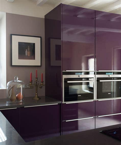 cuisine grise et aubergine cuisine aubergine et grise pas cher sur cuisine lareduc com