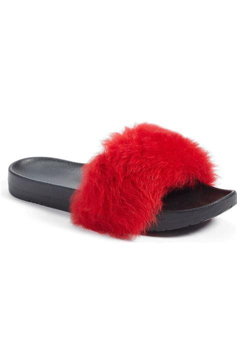 ugg royale genuine shearling  sandal women nordstrom