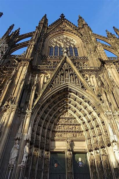 Cologne Cathedral Germany Portal South Commons Wikimedia