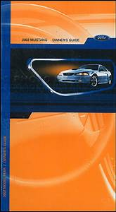 2002 Ford Mustang Wiring Diagrams Manual Original