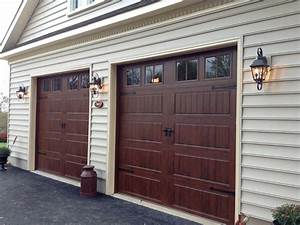 Carriage doors stamped steel mount garage doors for 9x9 garage door