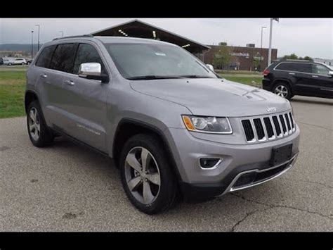 silver jeep grand cherokee 2015 new 2015 jeep grand cherokee limited 4x4 silver