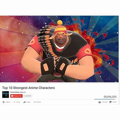 Strongest Anime Characters Sprays Heavy Funny Spray