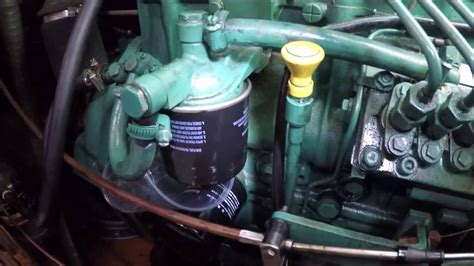change  diesel filter  pre filter   volvo