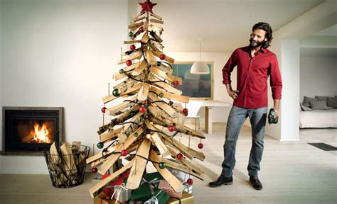 tannenbaum aus holz bauen holzarbeiten moebel selbstde