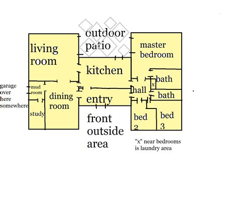 apartmentscool shaped apartment floor plan house plans