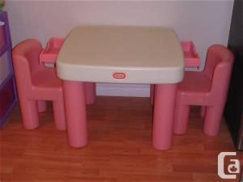little tikes pink white table and chairs set