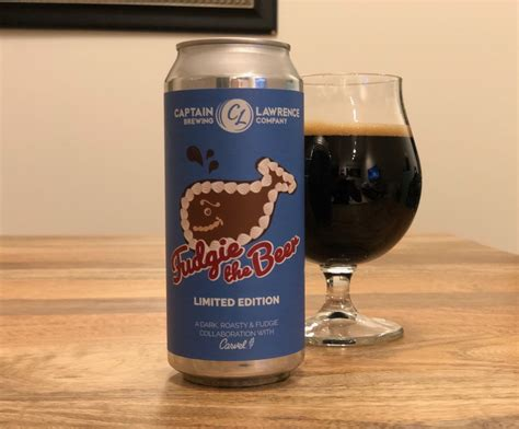 captain lawrence brewing company fudgie  beer