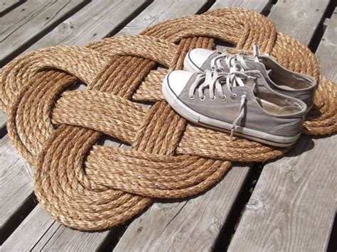 Nautical Rope Doormat by Welcome Mats Front Door Mats And Nautical Knots On