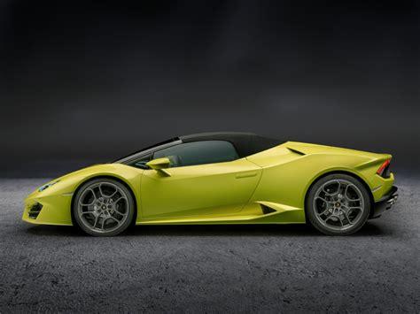 Official Lamborghini Huracan Rwd Spyder