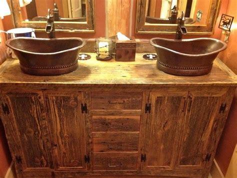 Diy Rustic Bathroom Vanity by Pin By Niki On Remodeling The Bathroom Next