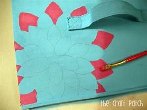 Painted Canvas Bins - thecraftpatchblog com