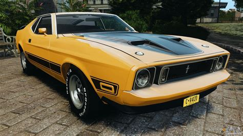 1973 Ford Mustang Mach 1 V2 For Gta 4