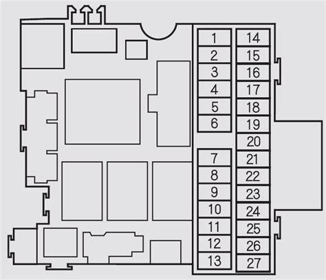 2005 Honda Cr V Fuse Diagram by Honda S2000 2002 2005 Fuse Box Diagram Auto Genius