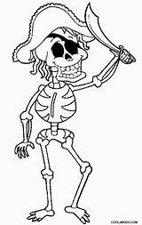 Skeleton Coloring Pirate Bones Printable Skelett Malvorlagen Cool2bkids Piraten Ausmalbilder Clases Popular sketch template