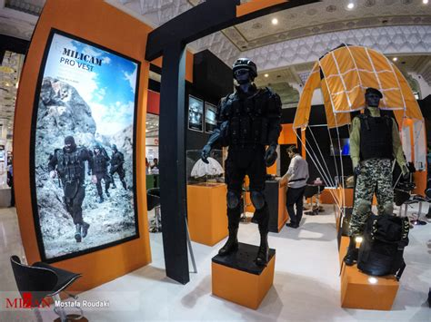 tehran hosts police safety security equipment exhibition
