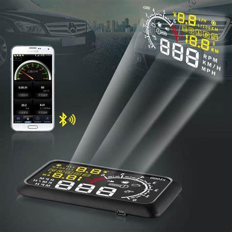 Obd Car by X3 Bluetooth Obd Ii 2 Car Hud Windshield Interface