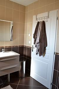 best salle de bain beige et chocolat contemporary With salle de bain marron