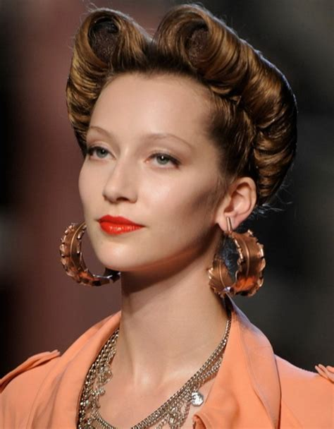 Retro hairstyles for women