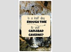 How long does it take to tour Carlsbad Caverns? Points