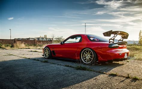 koenigsegg agera r wallpaper mazda rx 6 red car view at back 4k background