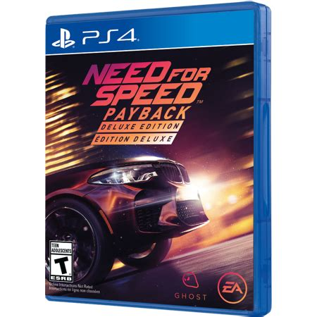need for speed payback deluxe edition need for speed payback deluxe edition pre order playstation 4 ps4 walmart
