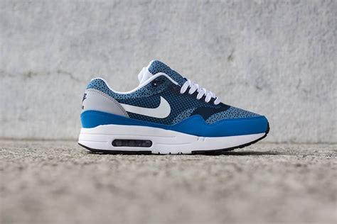 nike air max 1 jacquard blue le site de la sneaker