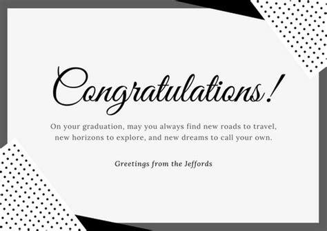 customize  congratulations card templates  canva