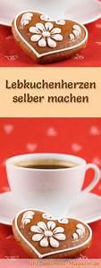 Lebkuchenherzen Selber Machen : lebkuchenherzen selber machen rezept ~ Frokenaadalensverden.com Haus und Dekorationen