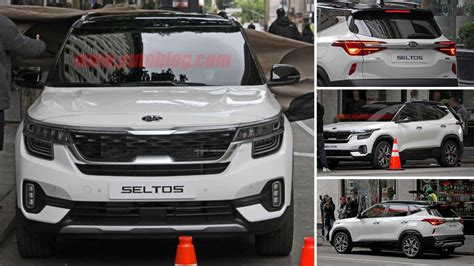 seltos   production   kia sp suv spied