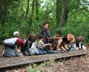 Kids Walking Dead Photo Shoot