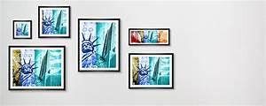 Wand Poster New York : moderne collage von new york als blickfang ~ Markanthonyermac.com Haus und Dekorationen