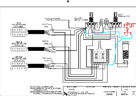 steve vai wiring diagram
