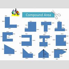 Compound Area Worksheet By Holyheadschool  Teaching Resources Tes