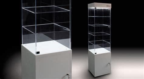 illuminazione vetrina vetrina in metacrilato con illuminazione led artegrafica
