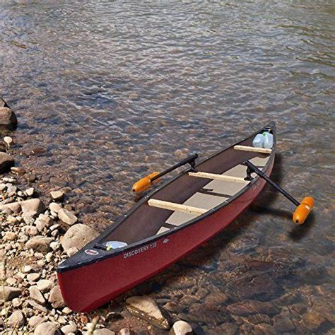 Canoe Outriggers / Stabilizers w/ ORANGE FLOATS Inspired