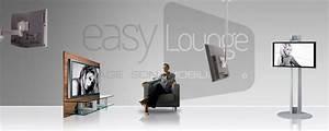 Bras Articulé Pour Tv : fixer son t l viseur un support guides d 39 achat easylounge ~ Dailycaller-alerts.com Idées de Décoration